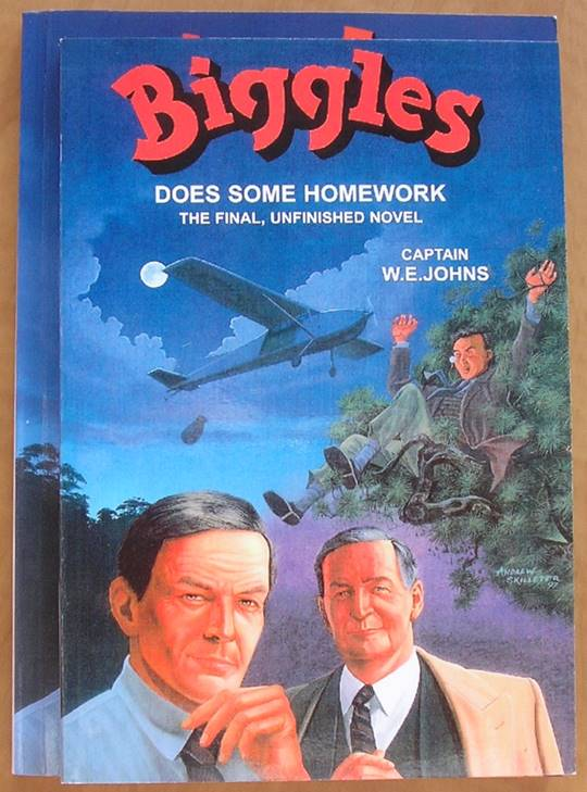 biggles does some homework sale